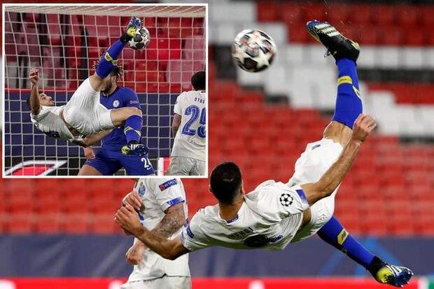 واکنش طارمی به انتخابش بعنوان زننده بهترین گل لیگ قهرمانان اروپا