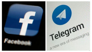 فیس بوک و تلگرام