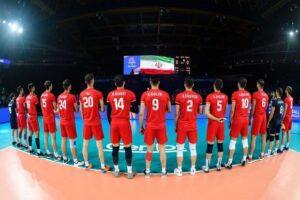 تیم والیبال ایران در بازیهای المپیک
