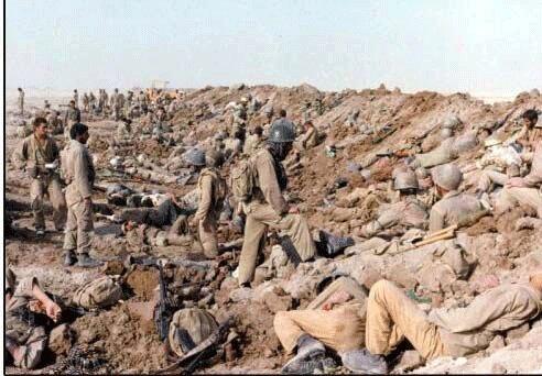 عکسهای خراب هوایی و ابهام در مواضع دشمن/ وقتی عراق اشتباه نکرد