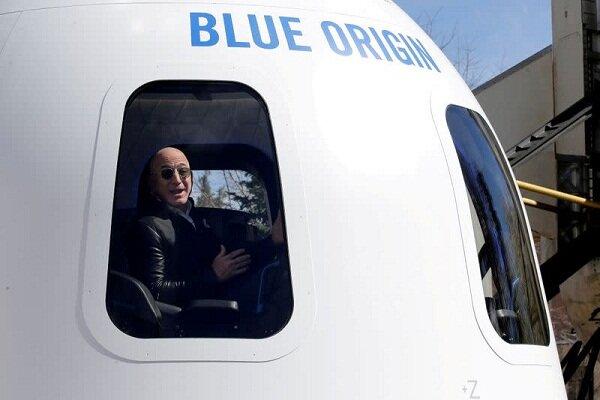 جف بزوس برای سفر به مرز فضا آماده می شود