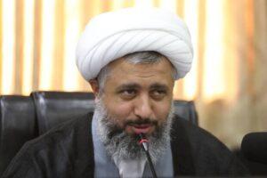 حجت الاسلام حسن شجاعی رئیس کمیسیون اصل ۹۰ علی آبادی