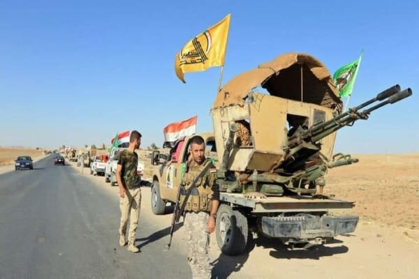 حملهای به مواضع «حشد شعبی» در مرزهای با سوریه صورت نگرفته است
