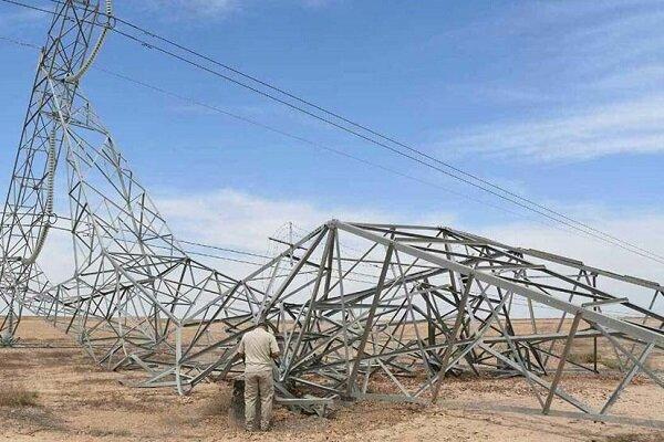 حمله جدید به دکلهای برق در استان دیالی عراق