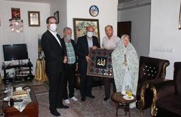 دیدار با خانواده شهید مدافع حرم عباس آبیاری