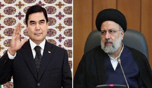 دعوت رئیسجمهور ترکمنستان از رئیسی برای شرکت در اجلاس سران «اکو»