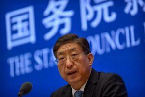 معاون وزیر بهداشت چین