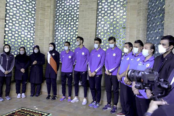 ملی پوشان تکواندو ایران بدرقه شدند