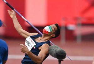 ورزشکار پرتاب نیزه ایران