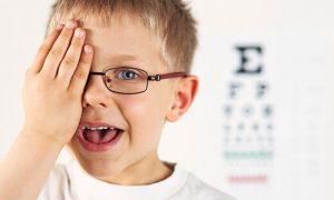تقویت چشم کودک