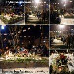 شب سوم تشییع و تدفین شهدای گمنام نصیرآباد