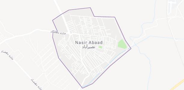 نقشه نصیراباد باغستان شهریار
