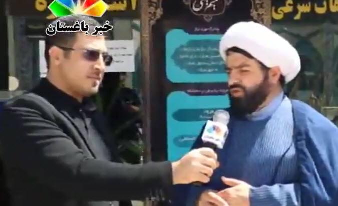 مصاحبه خبر باغستان با حجت الاسلام والمسلمین جلیل زاده رئیس اداره تبلیغات شهریار