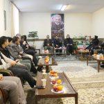 نشست خبری رئیس اداره فرهنگ وارشاد اسلامی شهریار با اصحاب رسانه برگزار شد .