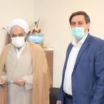 دیدار دکتر حسین حق وردی نماینده محترم حوزه مشق با امام جمعه باغستان