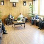 نشست فرماندار شهریار و مدیرکل دفتر امور اتباع و مهاجرین خارجی استانداری تهران