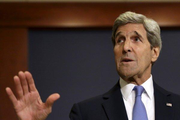 جان کری: درباره حملات اسرائیل در سوریه گفتگویی با ظریف نداشتهام