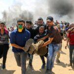 درگیری نظامیان صهیونیست با فلسطینیان ۷۱۴ زخمی برجای گذاشت