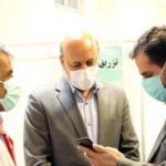 بازدید فرماندار از مراکز واکسیناسیون عمومی علیه بیماری کووید ۱۹در شهریار