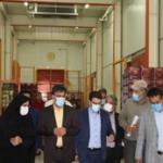 بازدید معاون هماهنگی امور اقتصادی استانداری تهران از یک واحد سردخانه صنعتی در شهریار