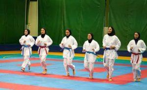 تیم ملی کاراته بانوان