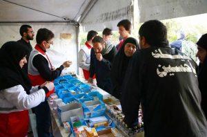 خدمات هلال احمر در اربعین ۱۴۰۰