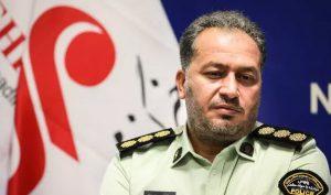 رئیس پلیس مبارزه با موادمخدر تهران