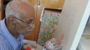 نگارگر برجسته گل و مرغ مکتب شیراز